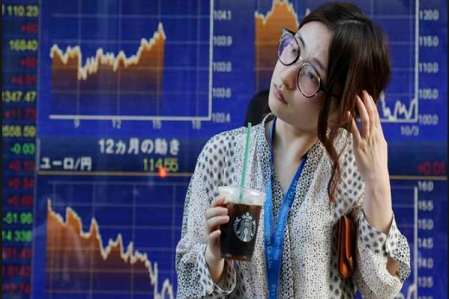 Asian shares rally after Wall Street gains