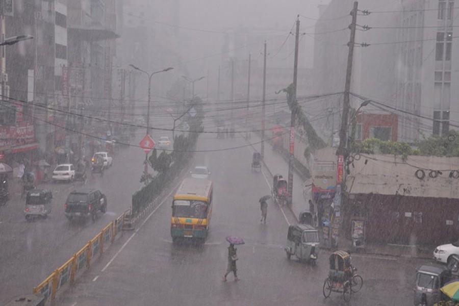 Six divisions await heavy rains