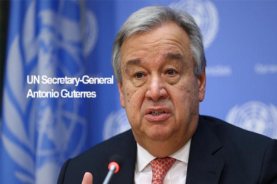 UN chief urges restraint by Myanmar forces in Rakhine
