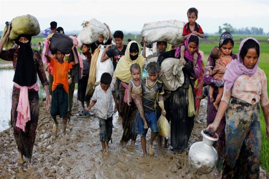 BD camps nearing full capacity as Rohingya exodus continues