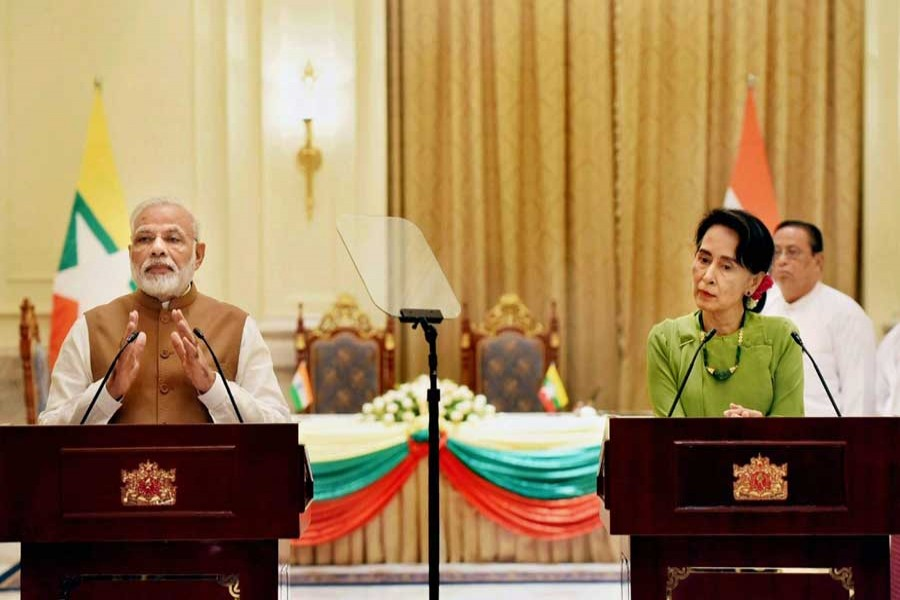 India to grant gratis visa to Myanmarese: Modi