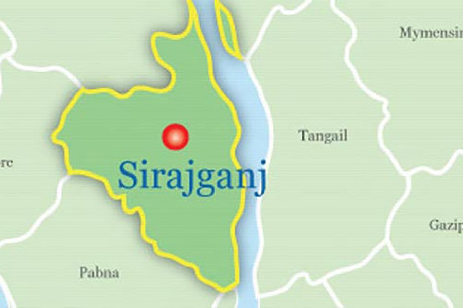 Woman dies in Sirajganj road crash