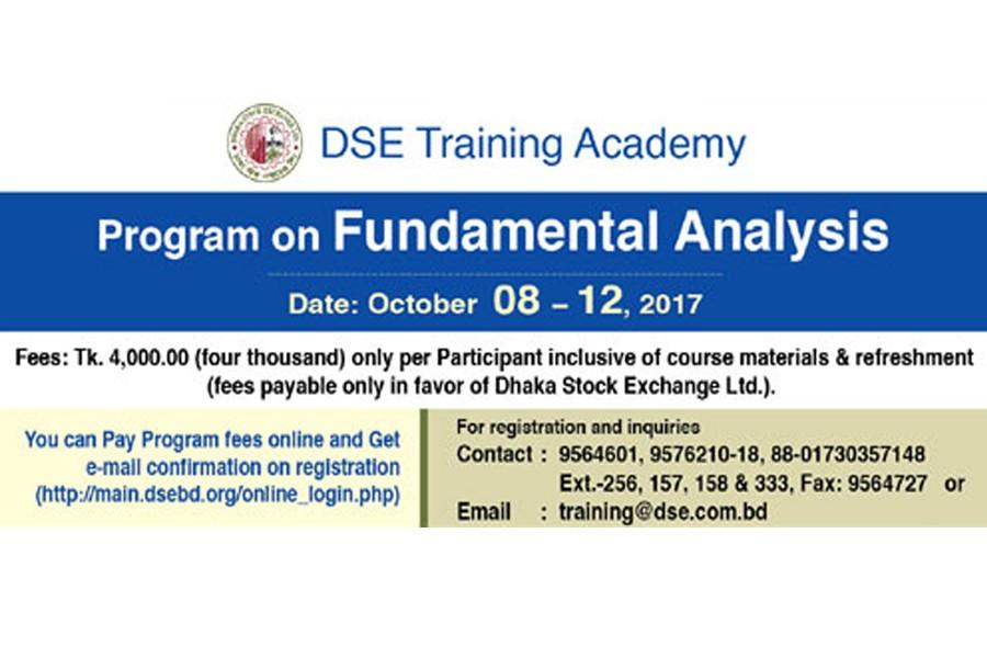 DSE arranges 'Fundamental Analysis' training
