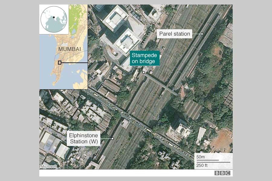 Mumbai stampede kills 22