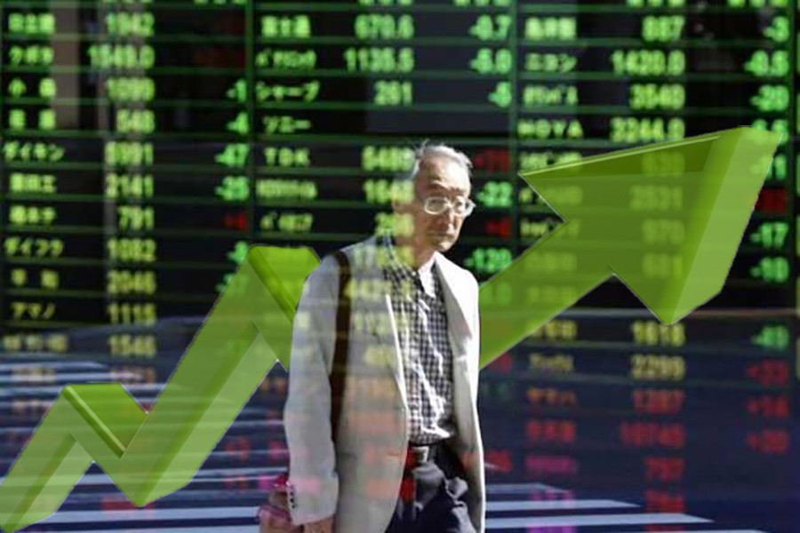 Asian markets mostly advance