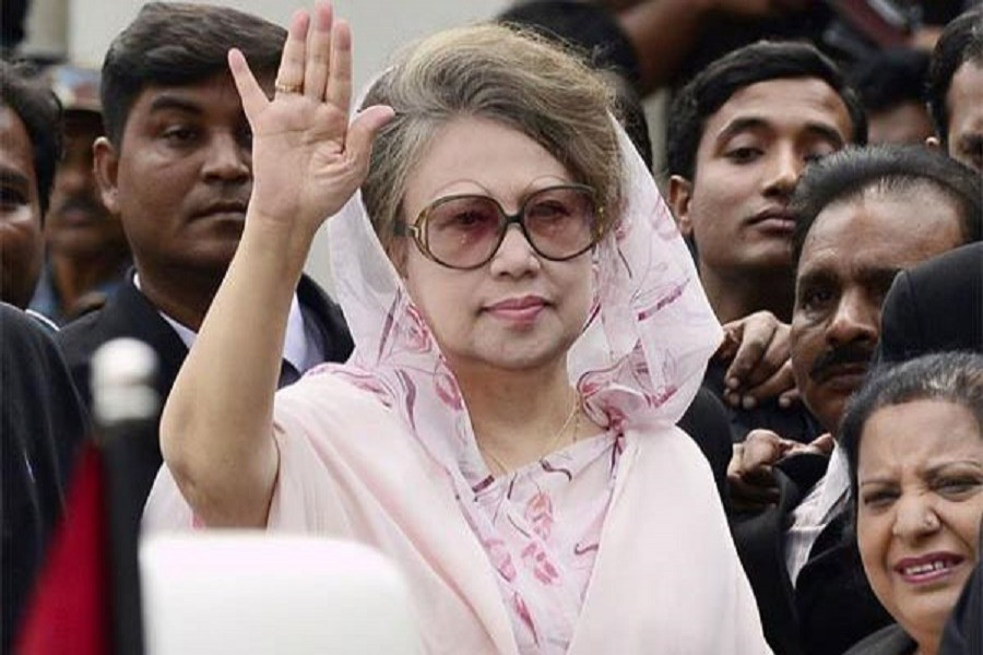 BNP Chairperson Khaleda Zia. Photo: Internet
