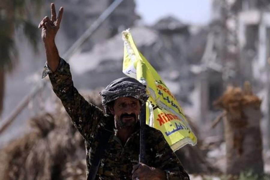 SDF takes 'control' of Raqqa