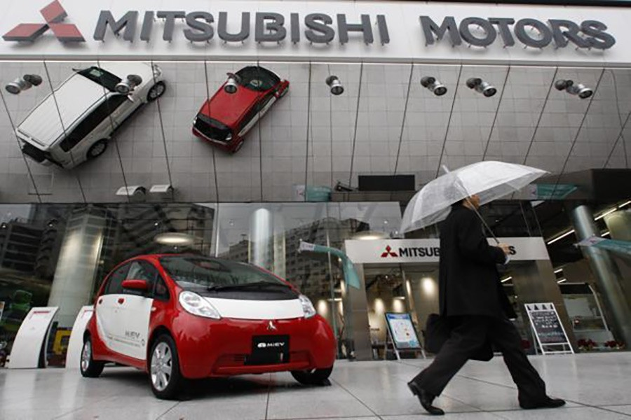 The Mitsubishi Motors Corp's headquarters in Tokyo seen in this Reuters file photo.