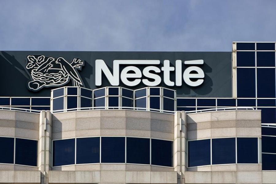 Nestle sales drop in first nine months