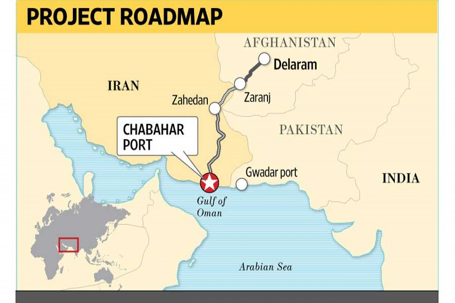 India unveils trade route to Afghanistan via Iran