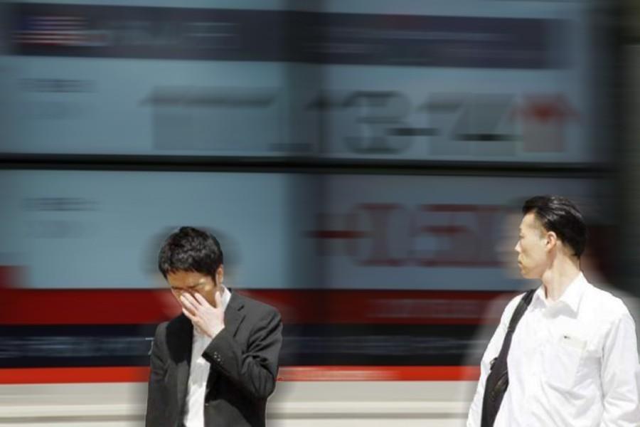 Japanese shares slip on profit-taking