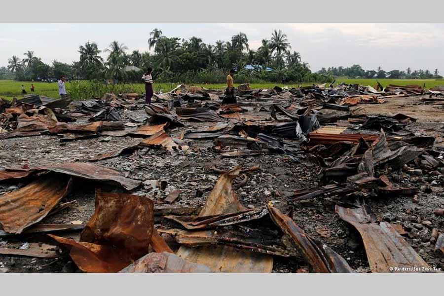 Myanmar army denies Rohingya atrocity; HRW slams