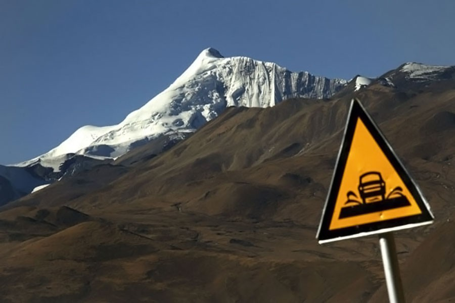 The earthquake shook a sparsely-populated area of Tibet (Reuters file photo used for representation)