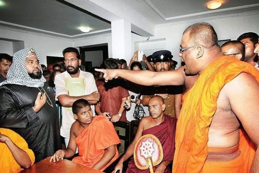 Buddhist-Muslim clash in Sri Lanka injures four