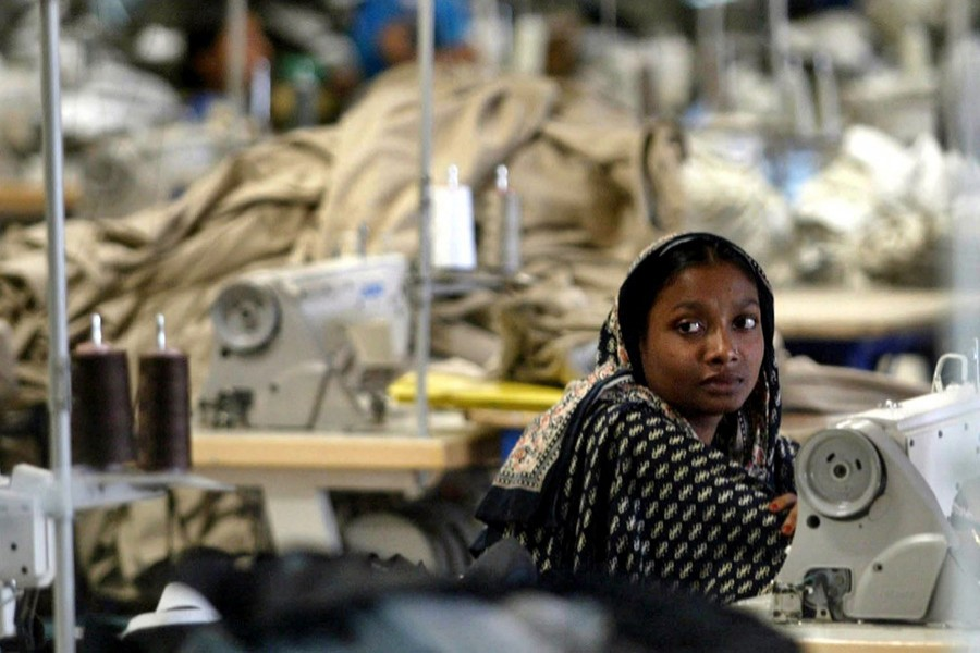 Only 7.0 per cent or 120 garment factories out of 1,699 have so far completed all the initially identified safety flaws prescribed by CAP. Photo: AP