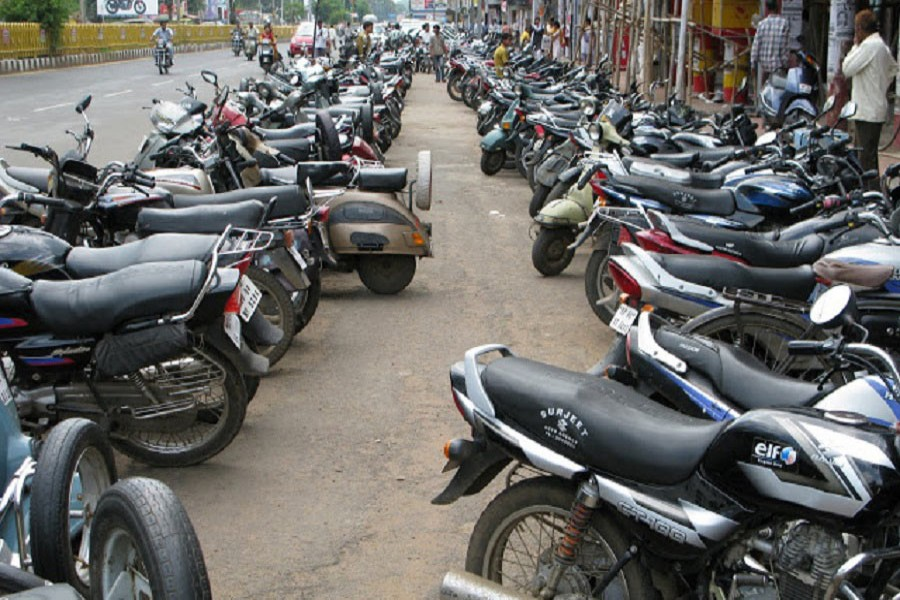 New motorbikes in Dhaka cross last year's total