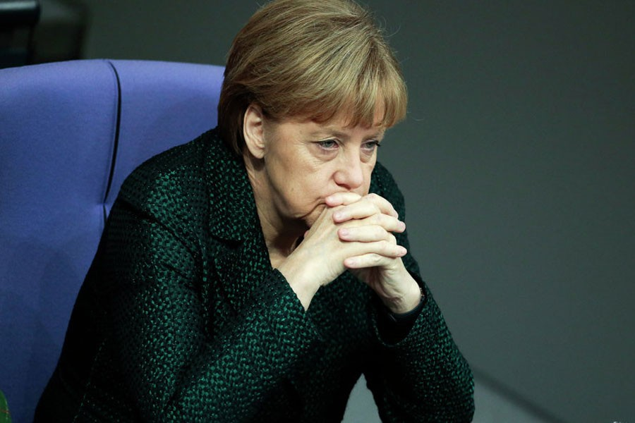 German Chancellor Angela Merkel (AP Photo/Markus Schreiber)