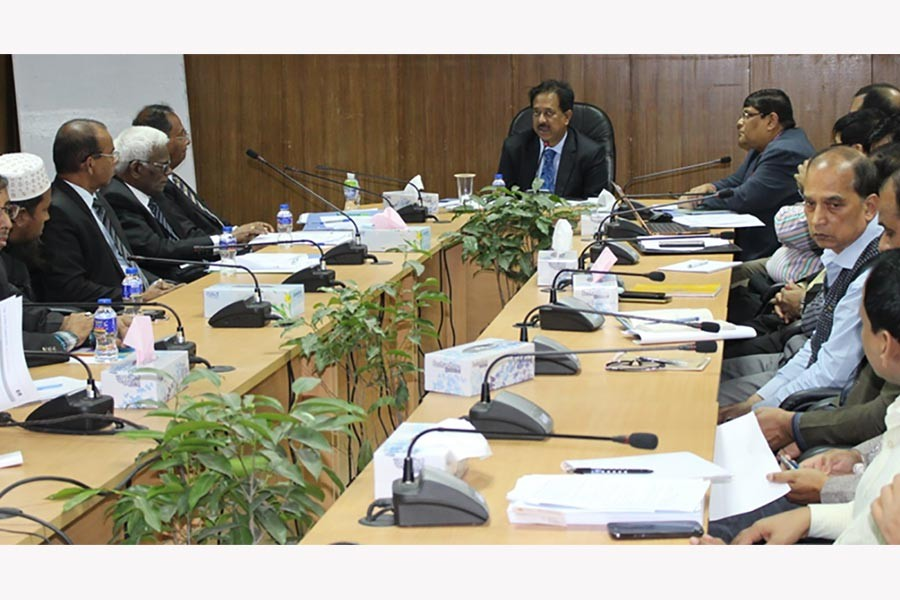 The delegation of Sri Lankan National Procurement Commission held a meeting with IMED officials at Ministry of Planning on Tuesday.