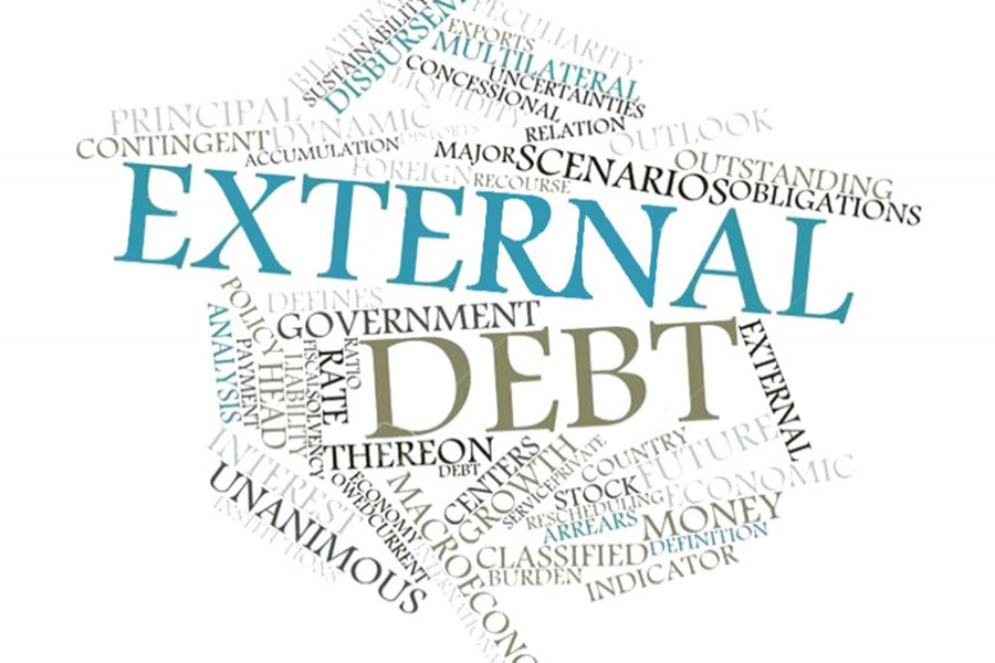 S Korea external debt hits record high