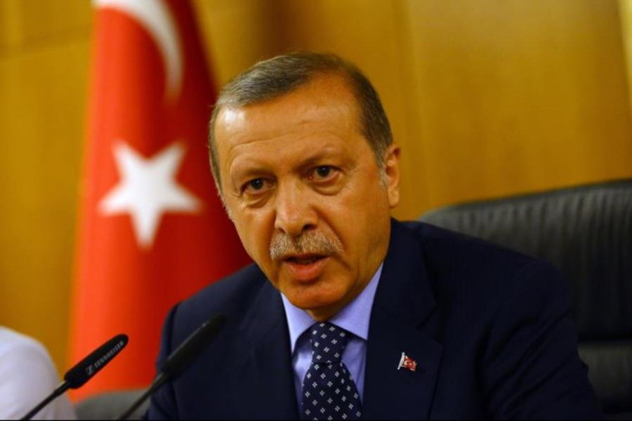 Turkey President Recep Tayyip Erdogan seen in this Reuters file photo.
