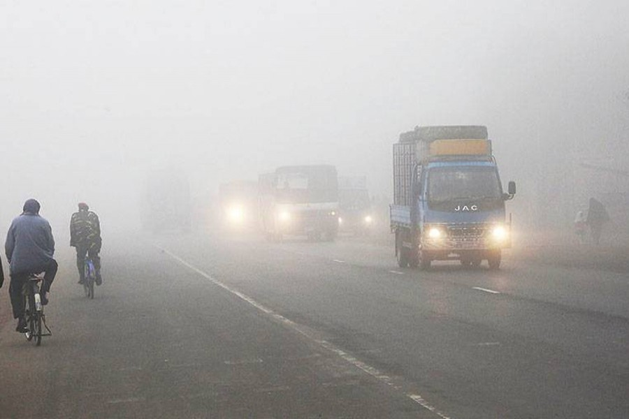 Bangladesh shivers with a cold wave.