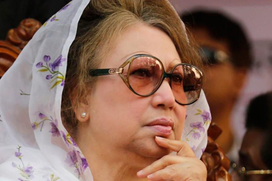 BNP Chairperson Khaleda Zia. - Reuters file photo