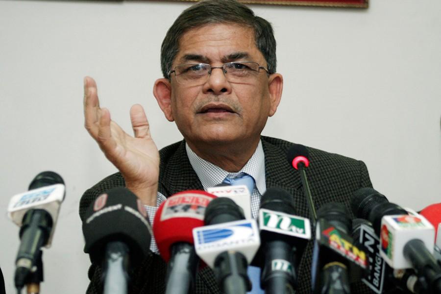 BNP Secretary General Mirza Fakhrul Islam Alamgir. - Collected
