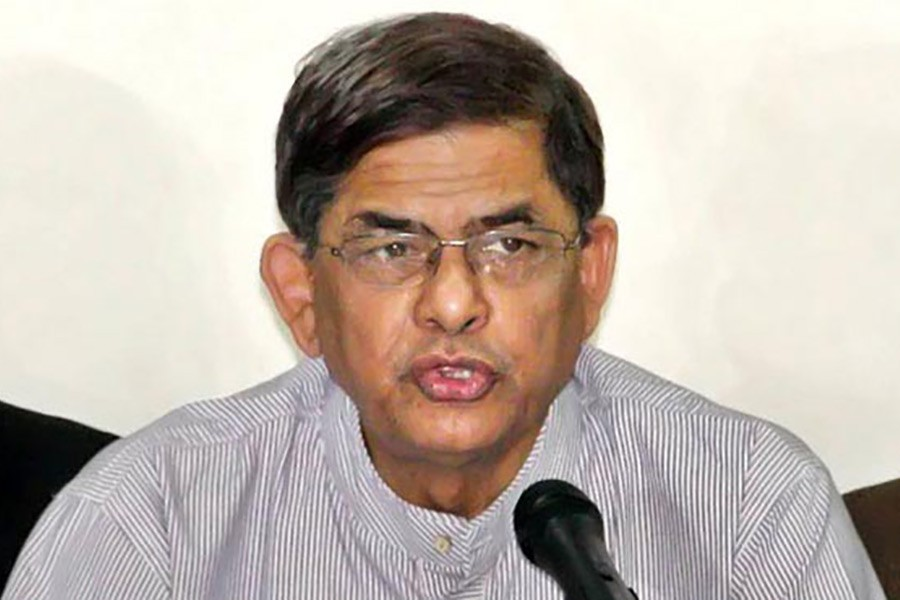 Fakhrul accuses government of trying to eliminate Khaleda's leadership