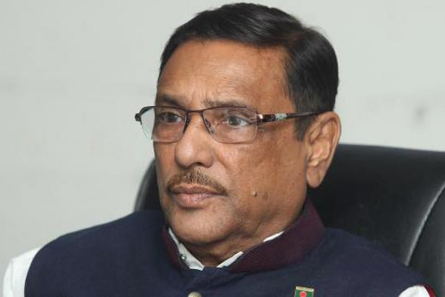 Quader warns BNP of violence in name of movement