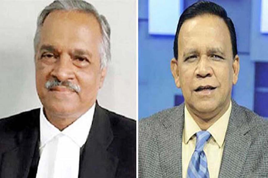 Joynul Abedin and  Mahbub Uddin Khokon