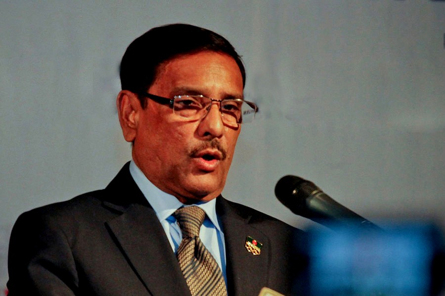 Khaleda will get necessary medical care: Obaidul Quader