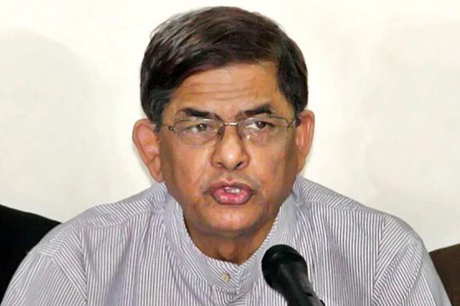 File photo shows BNP Secretary General Mirza Fakhrul Islam Alamgir