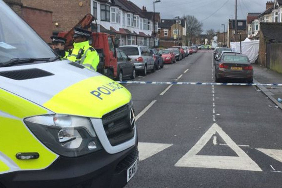 Police found the 17-year-old girl with a bullet wound in Chalgrove Road, Tottenham. BBC/File Photo