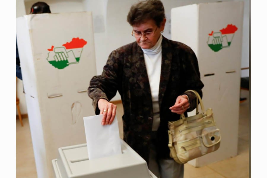 High turnout in Hungary's parliamentary election