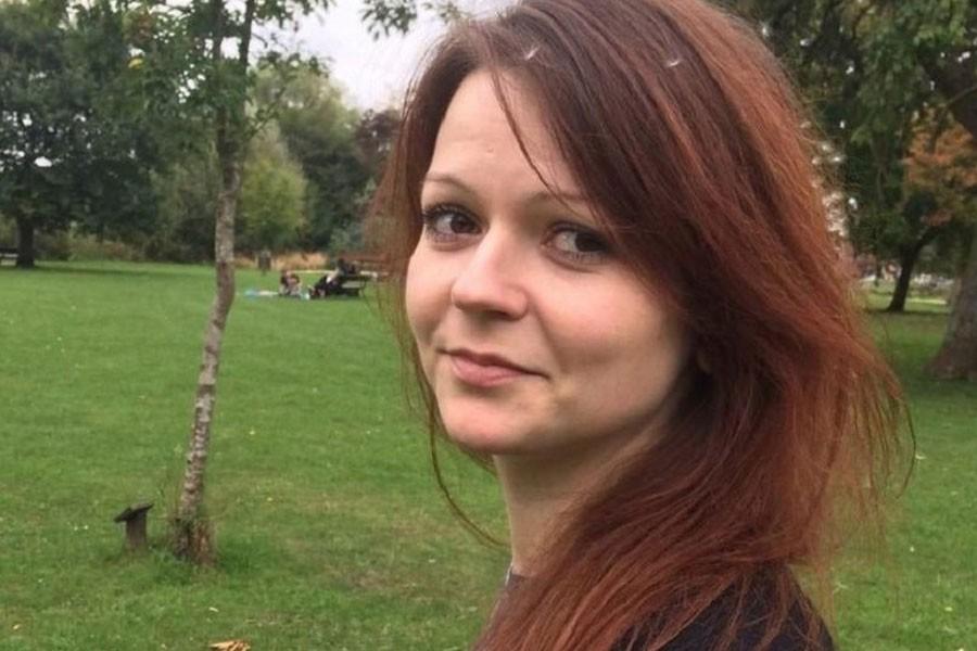 Yulia Skripal. AP.
