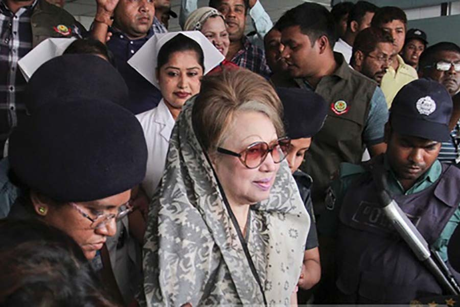 BNP demands Khaleda be moved to Hospital