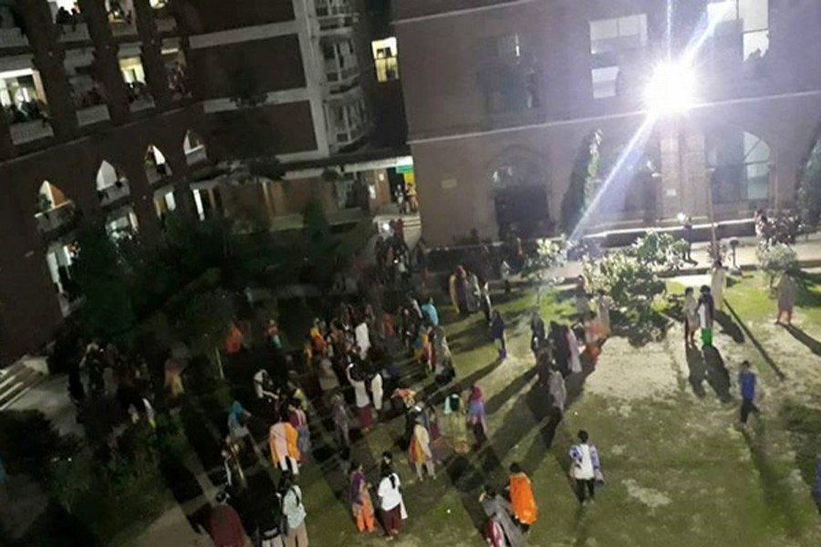 BCL expels 24 leaders and activists of DU Sufia Kamal Hall. UNB File Photo