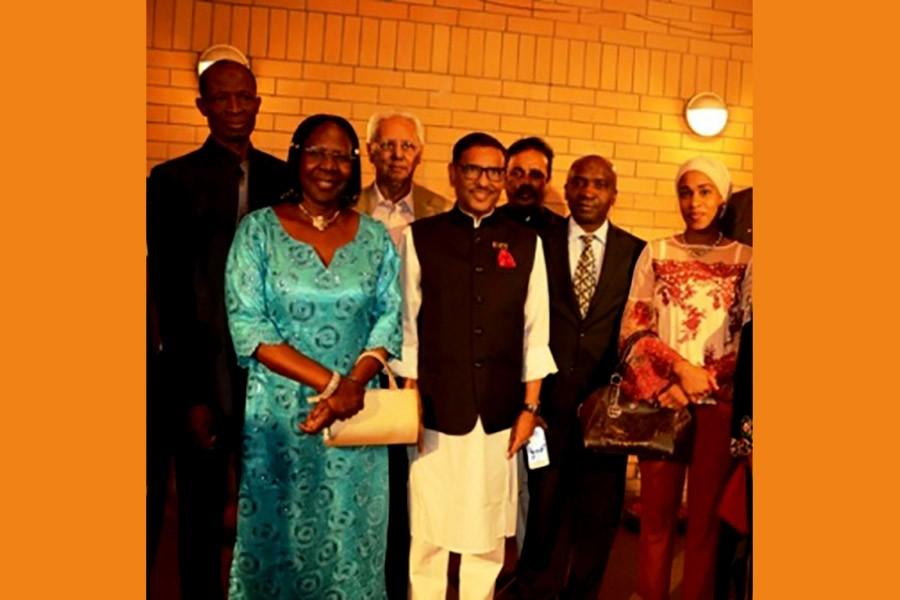 AL delegation visits Mahatma Gandhi Memorial