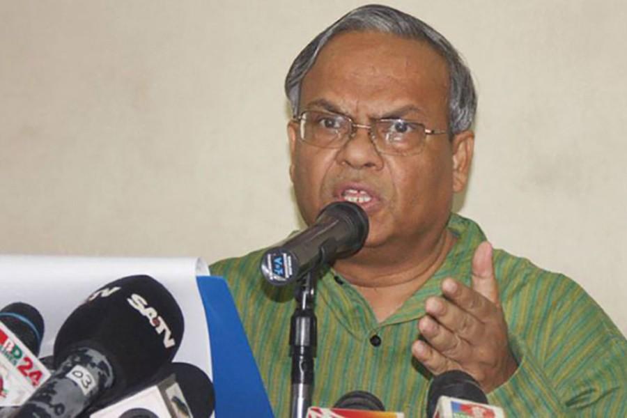 BNP senior Joint Secretary General Ruhul Kabir Rizvi seen in this file photo
