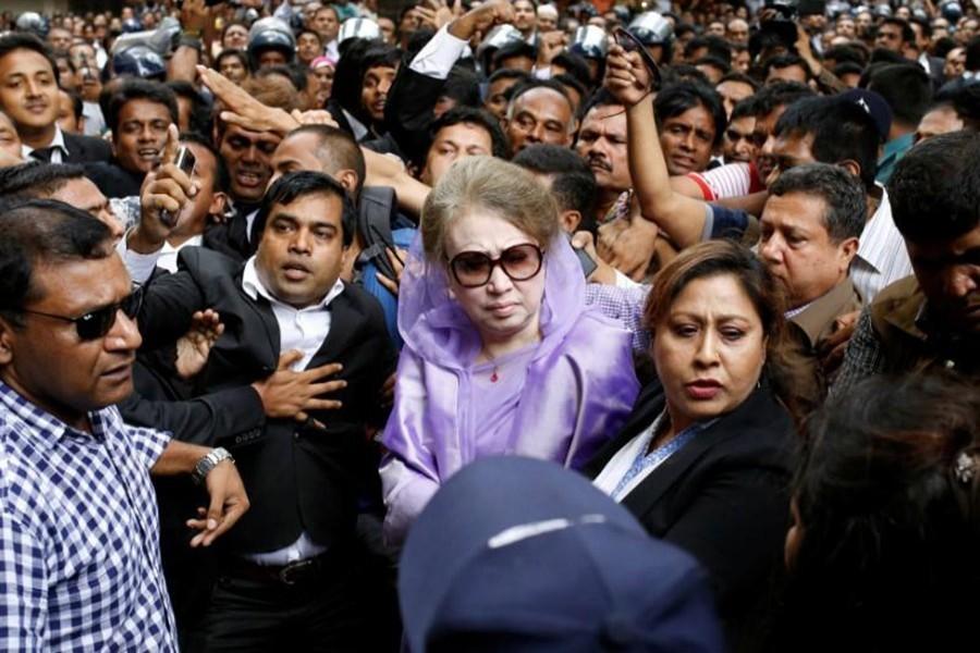 Order on Khaleda's bail petitions July 5