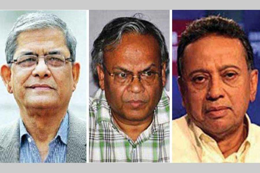 Case filed against Fakhrul, Rizvi and Khasru