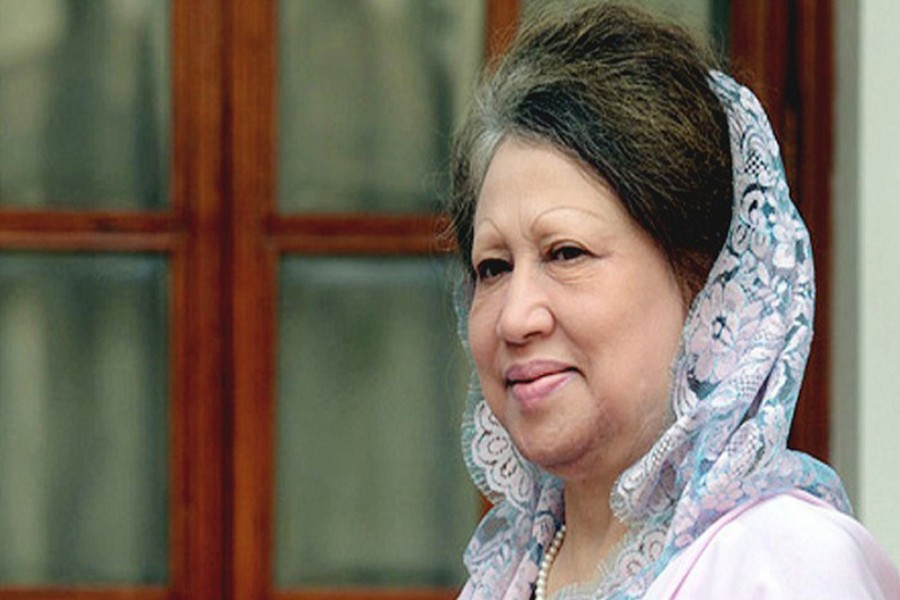Khaleda meets relatives, takes homemade food on Eid day