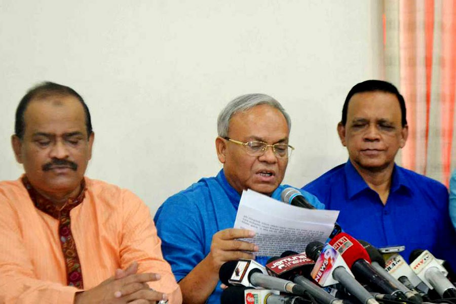 CEC trying to intimidate BNP: Rizvi