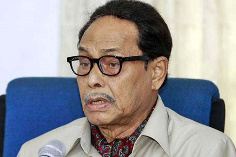 Jatiya Party (JP) chairman Hussain Muhammad Ershad. File photo
