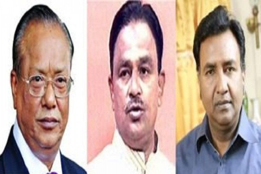 Mintoo, Alal, Sohel not contesting polls