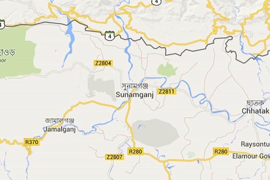 Sunamganj AL leader sues 85 over arson attack