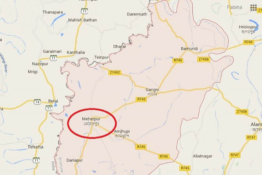 Meherpur BNP leader's house comes under bomb attack