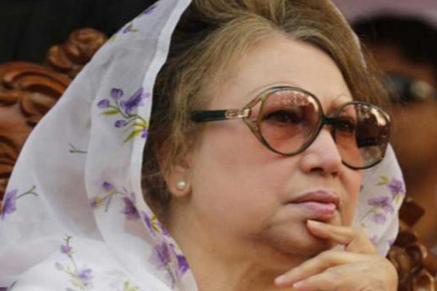 Khaleda declines to comment on national election