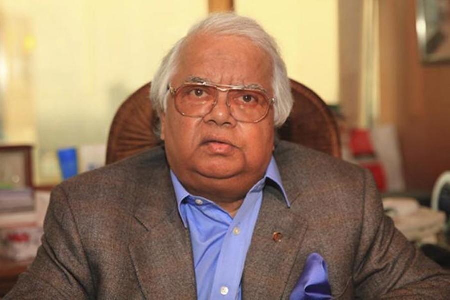 Former minister Barrister Nazmul Huda - File Photo