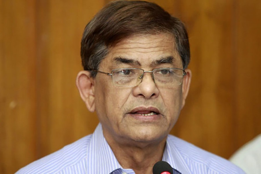 BNP secretary general Mirza Fakhrul Islam Alamgir - File Photo